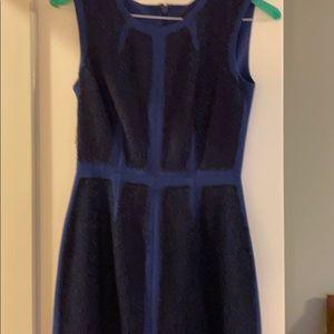 Bcbg royal blue with lace trim dress size 2